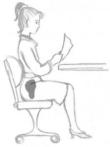 comment méditer: bonne posture assise