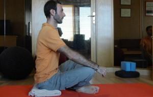 posture de yoga support