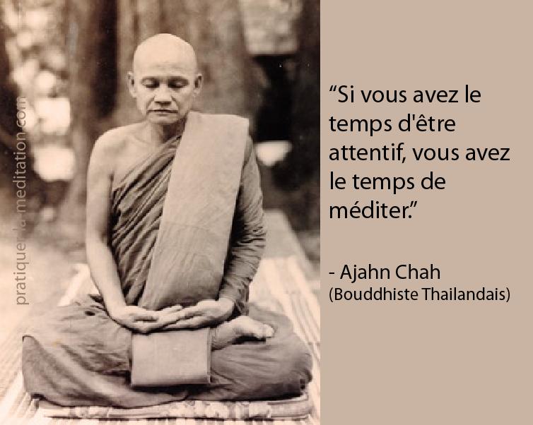 Célèbre Citation Sagesse | Pratiquer la Méditation QT95