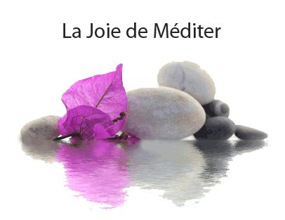 la joie de méditer