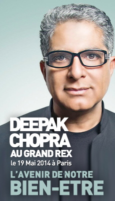 Deepak Chopra à Paris
