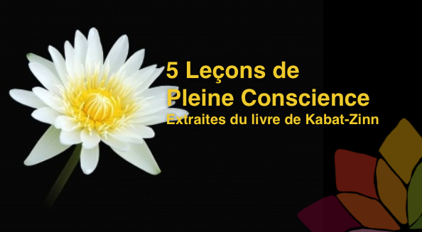 5 leçons de pleine conscience
