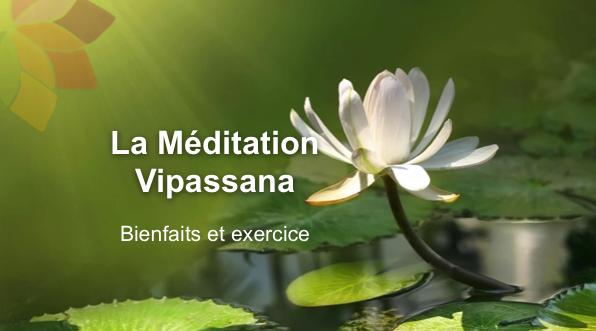 la meditation Vipassana