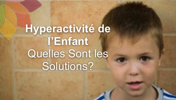 hyperactivité enfant