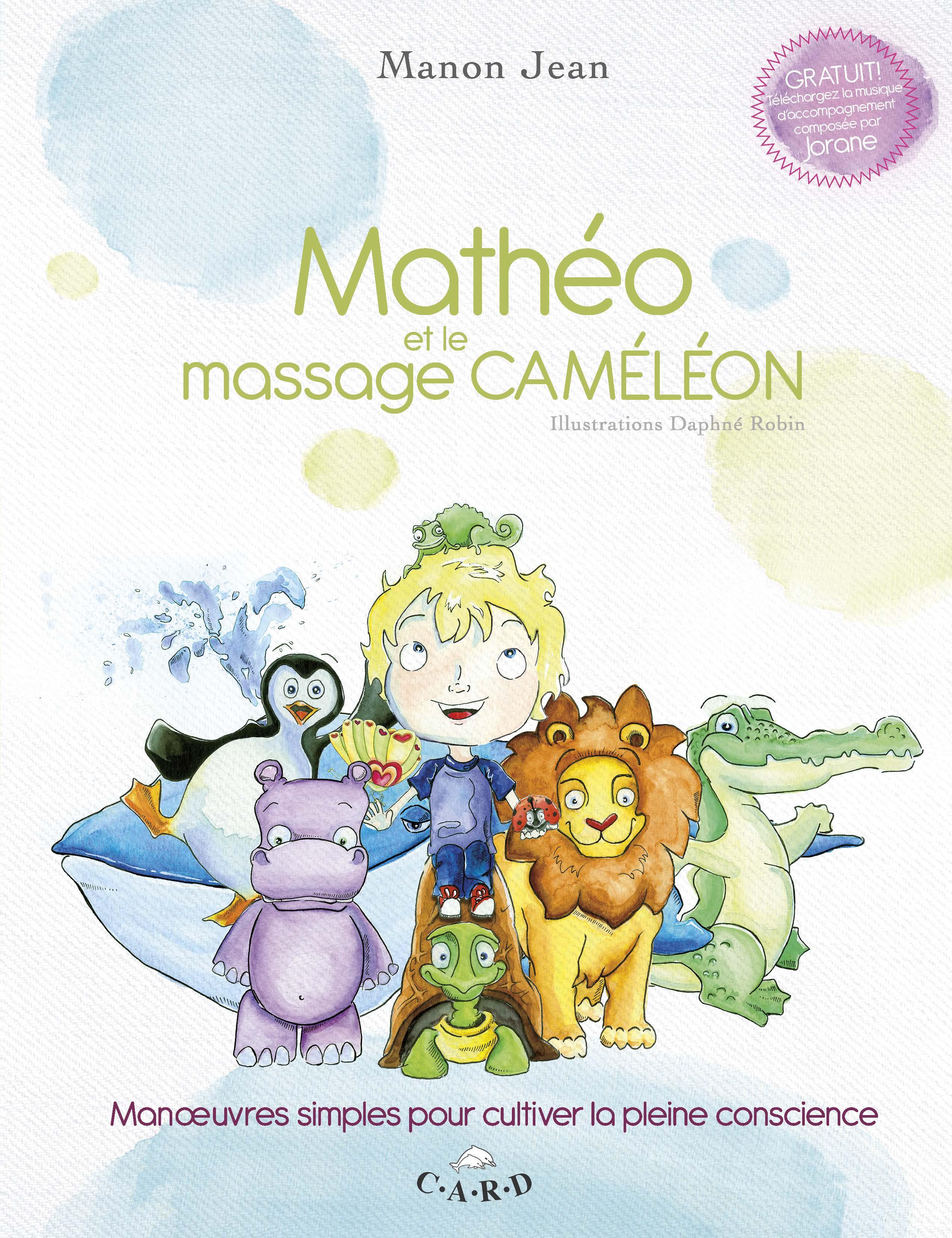Matéo et le massage caméléon couvert HR