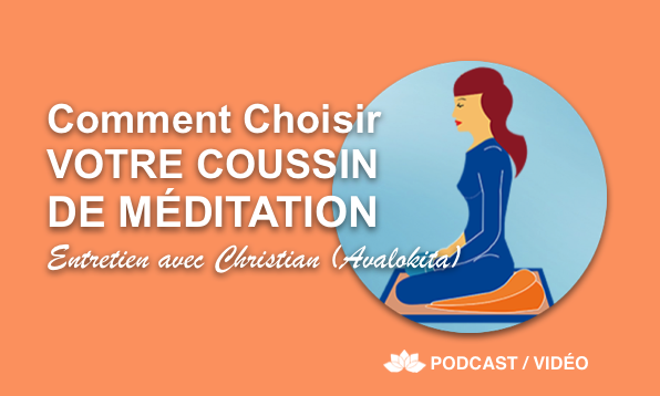 coussin de meditation